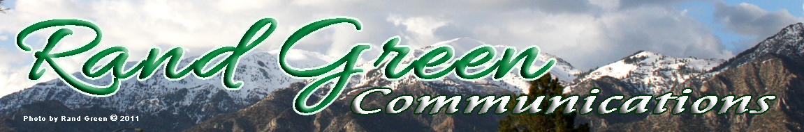 Rand Green Communications banner
