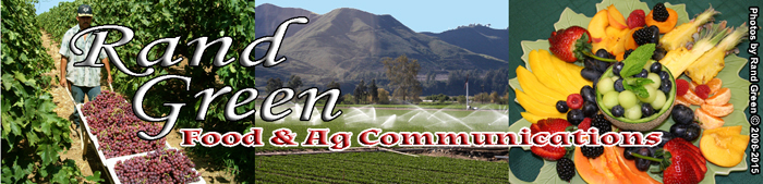 Rand Green Food & Ag Communications banner
